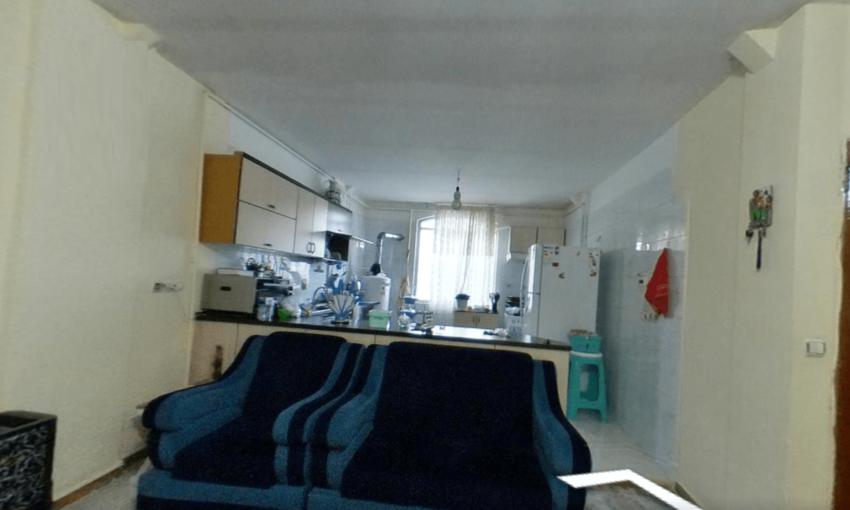 آپارتمان بلوار بعثت 63 متر تک خواب